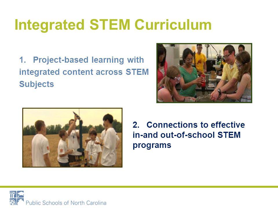 Integrated STEM Curriculum 3.