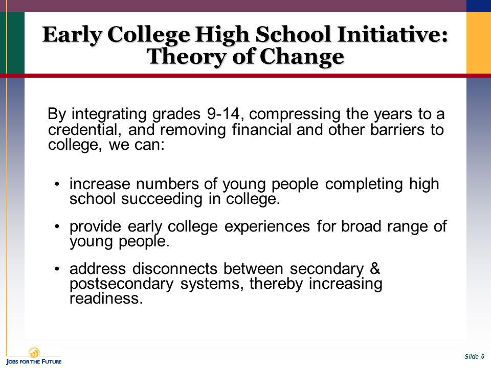 Slide 17 ECHS students in Career Center Students receive career information