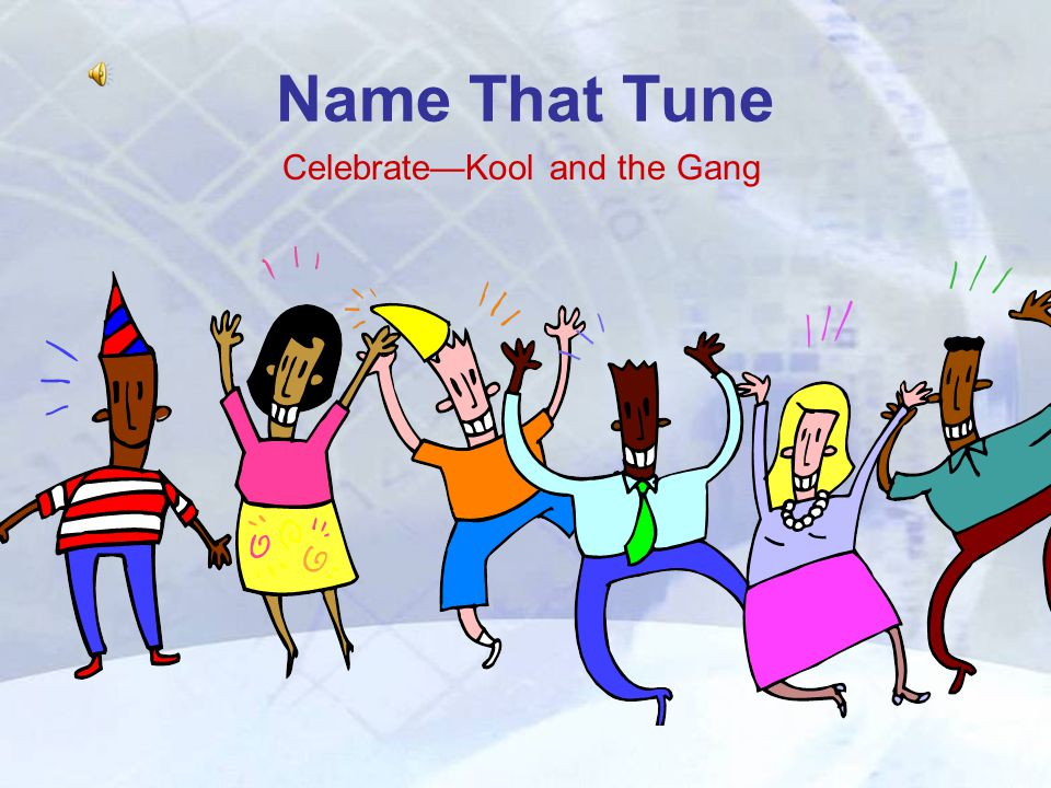 Name That Tune Celebrate—Kool and the Gang