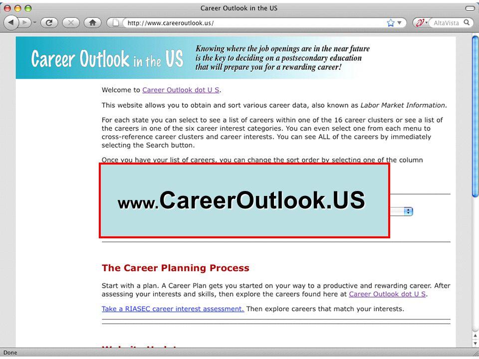 www. CareerOutlook.US www. CareerOutlook.US