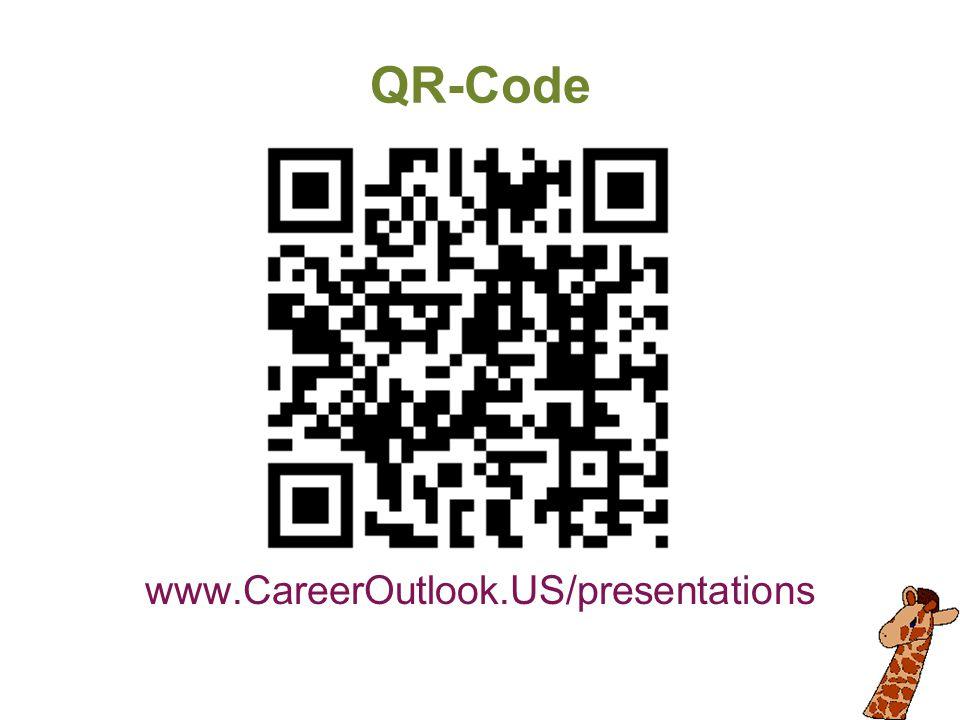 QR-Code www.CareerOutlook.US/presentations