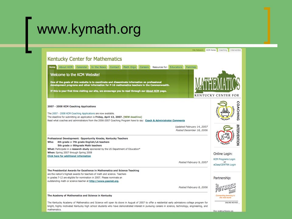 www.kymath.org