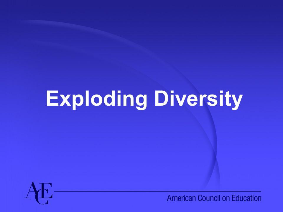 Exploding Diversity