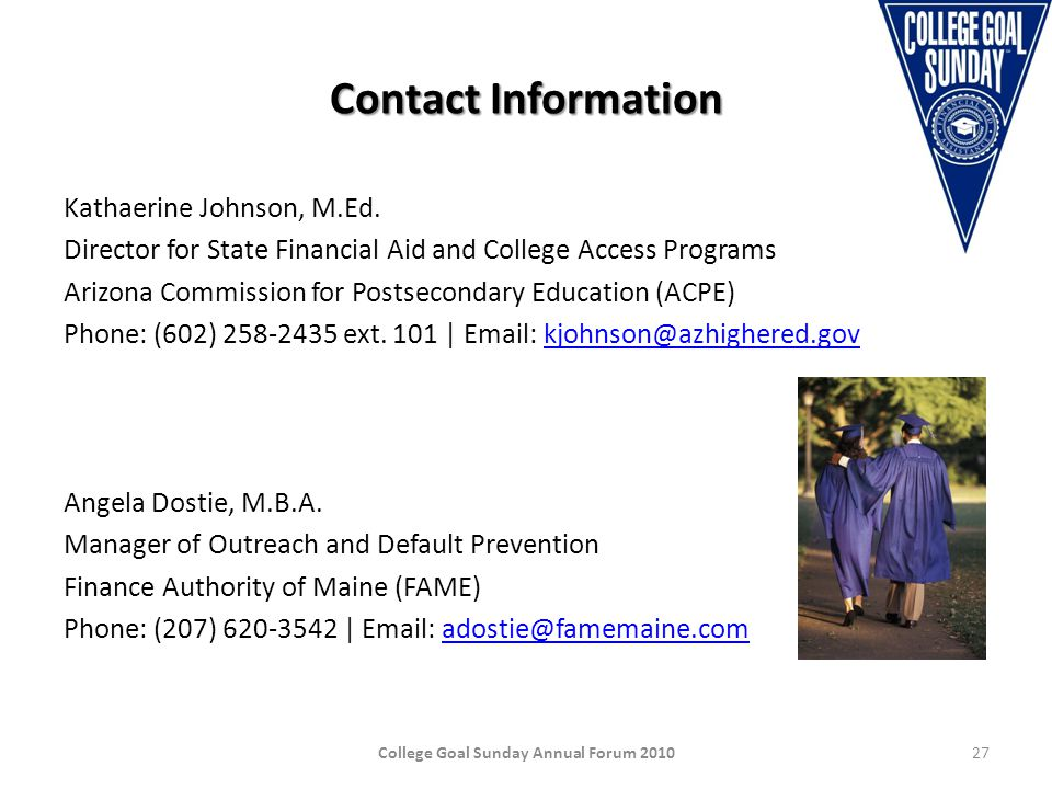 Contact Information Kathaerine Johnson, M.Ed.
