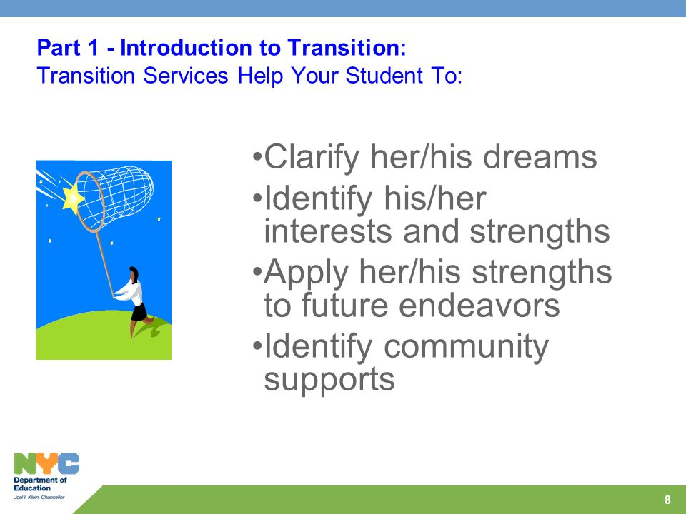 19 Audience Poll Which element is not part of a Transition IEP?