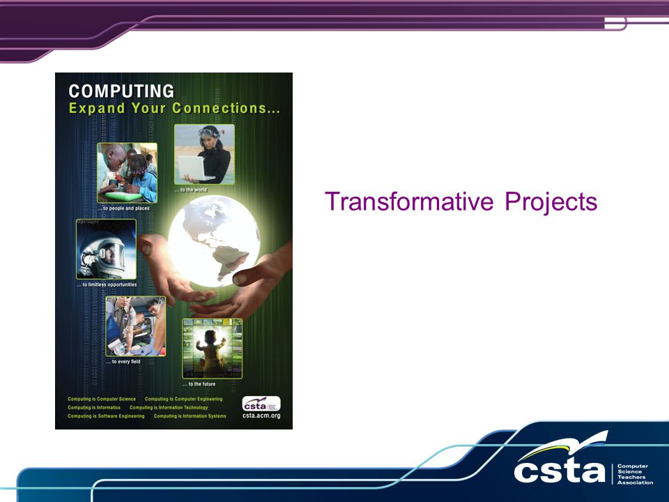 Transformative Projects