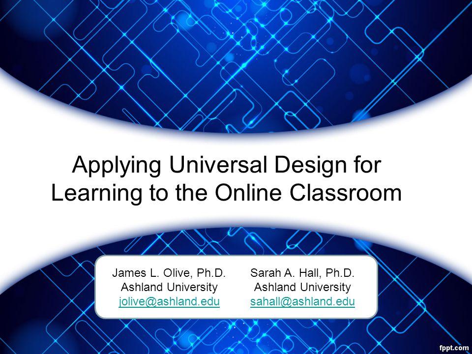 Questions.James L. Olive, Ph.D.