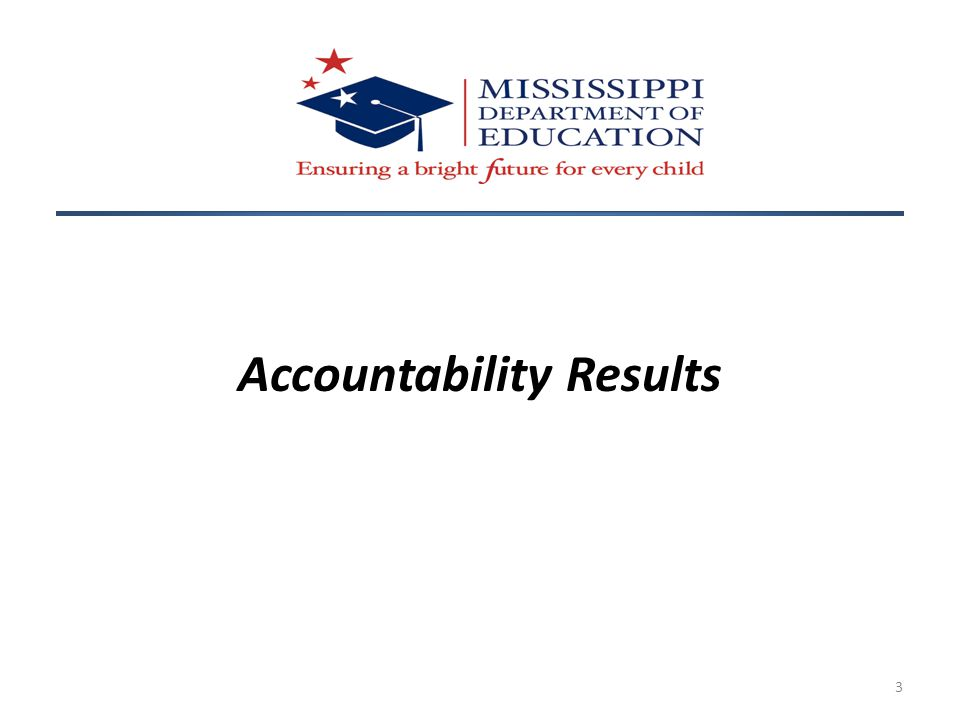 See this handout on Mississippi Students' Pathway to Success. www.mde.k12.ms.us 14