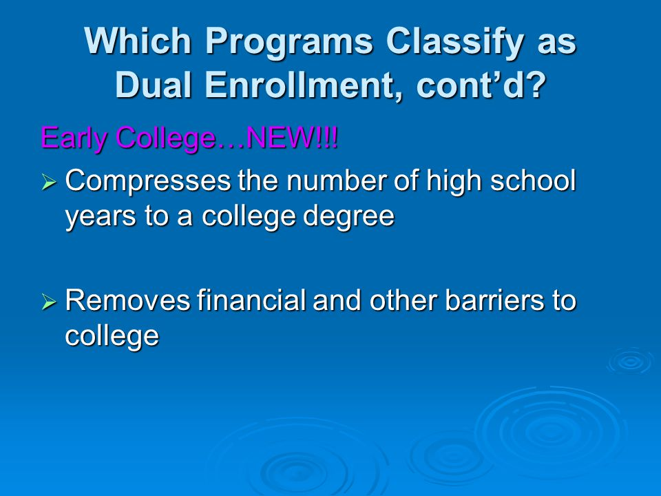 ACCEL-length of eligibility  Accel is not available during Summer terms.