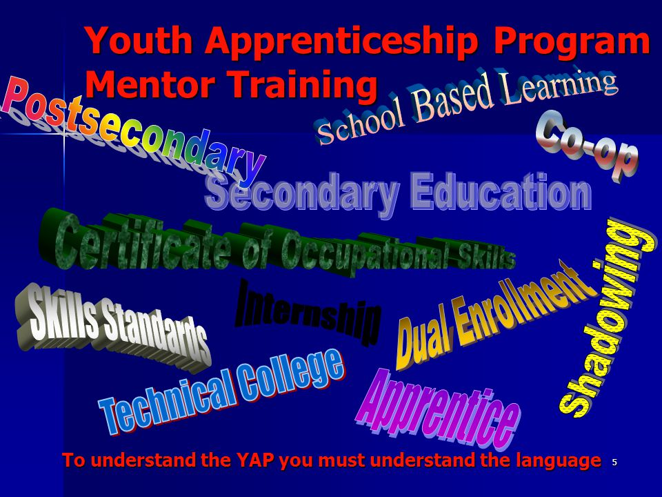 36 Youth Apprenticeship Program Mentor Training Self-Esteem – Much emphasis has been placed upon the important link between self- esteem and learning.