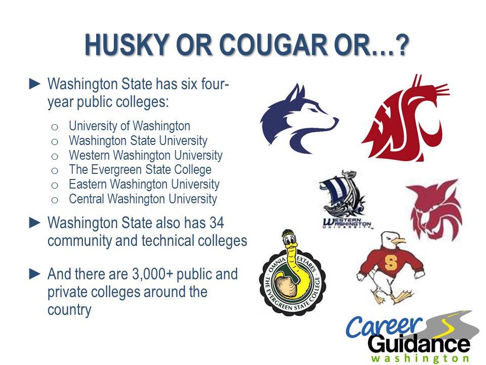 HUSKY OR COUGAR OR….