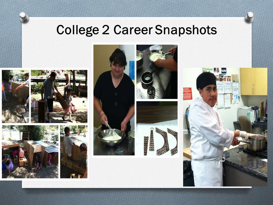 College 2 Career Snapshots