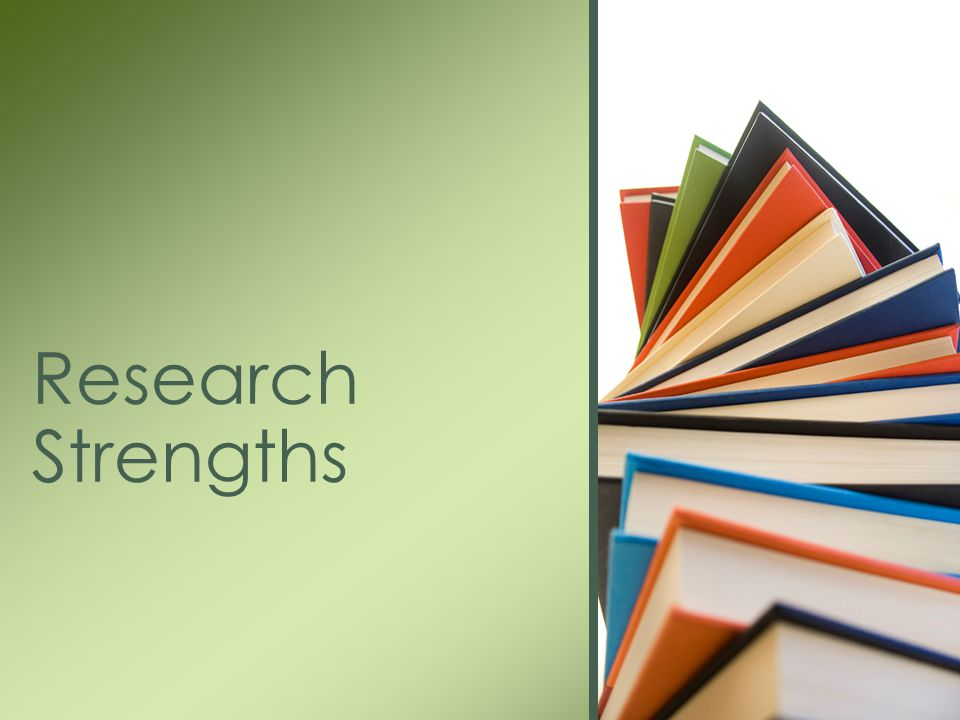 Research Strengths