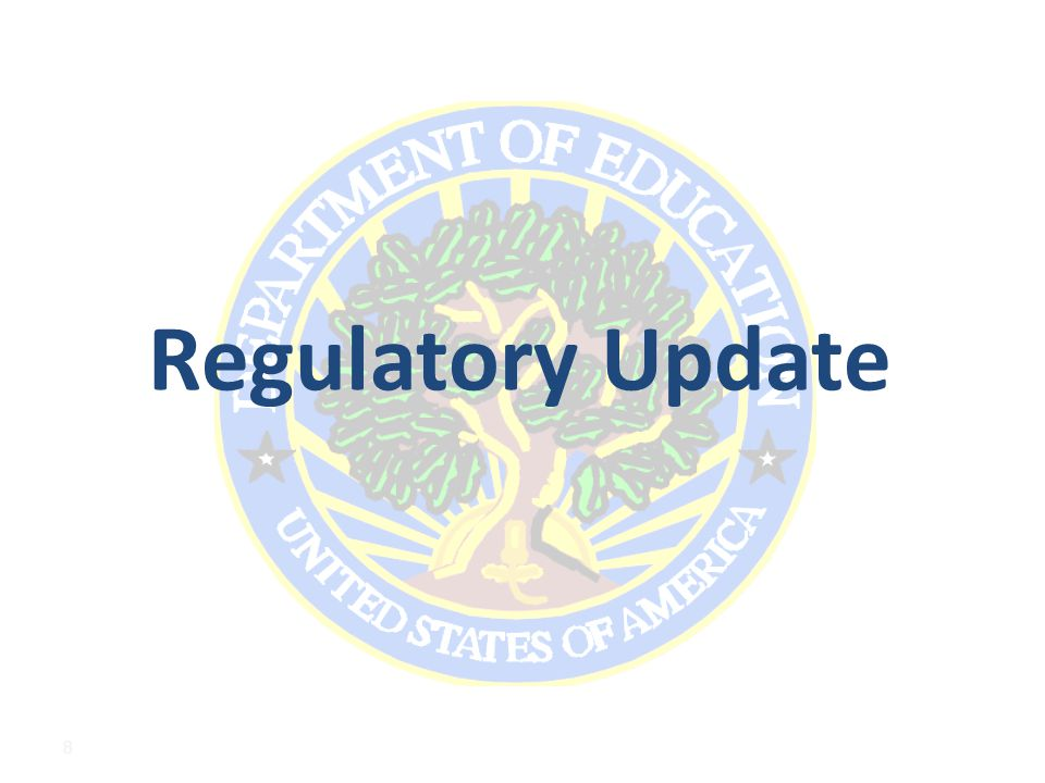 Regulatory Update 8