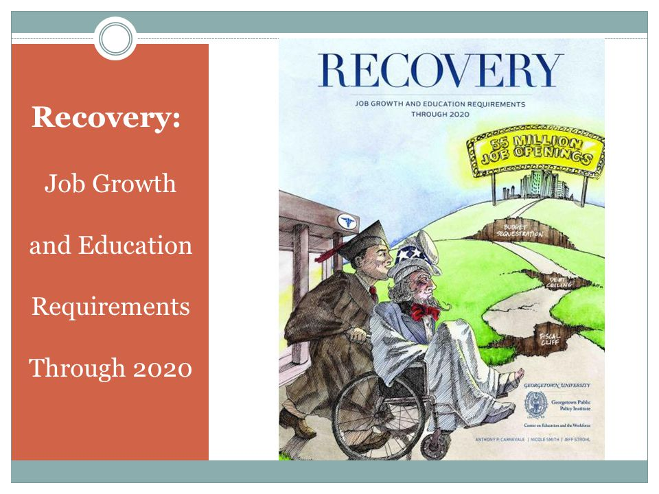Recovery: Job Growth and Education Requirements Through 2020