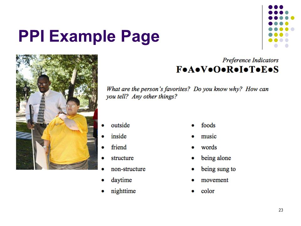 PPI Example Page 23
