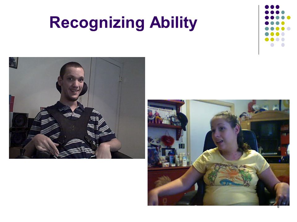 Recognizing Ability 8