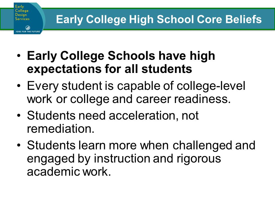 Ensuring that All Students Are on Target for College and Career Readiness before High School