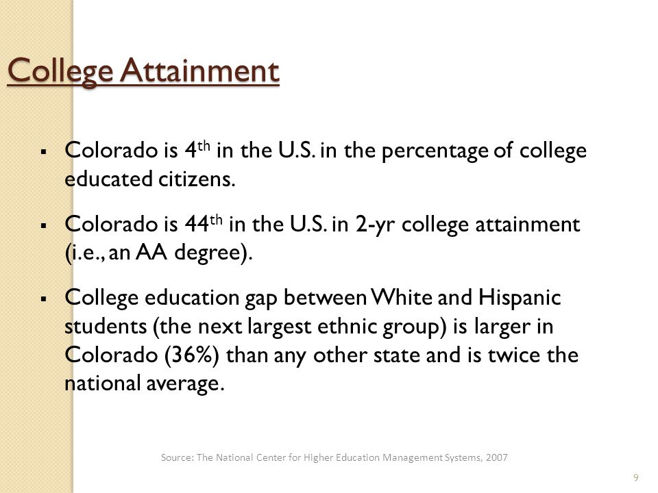 20 Higher Ed Values/Priorities  Reduced remediation  PWR summative assessment/college admissions  Mastery of 21 st C.