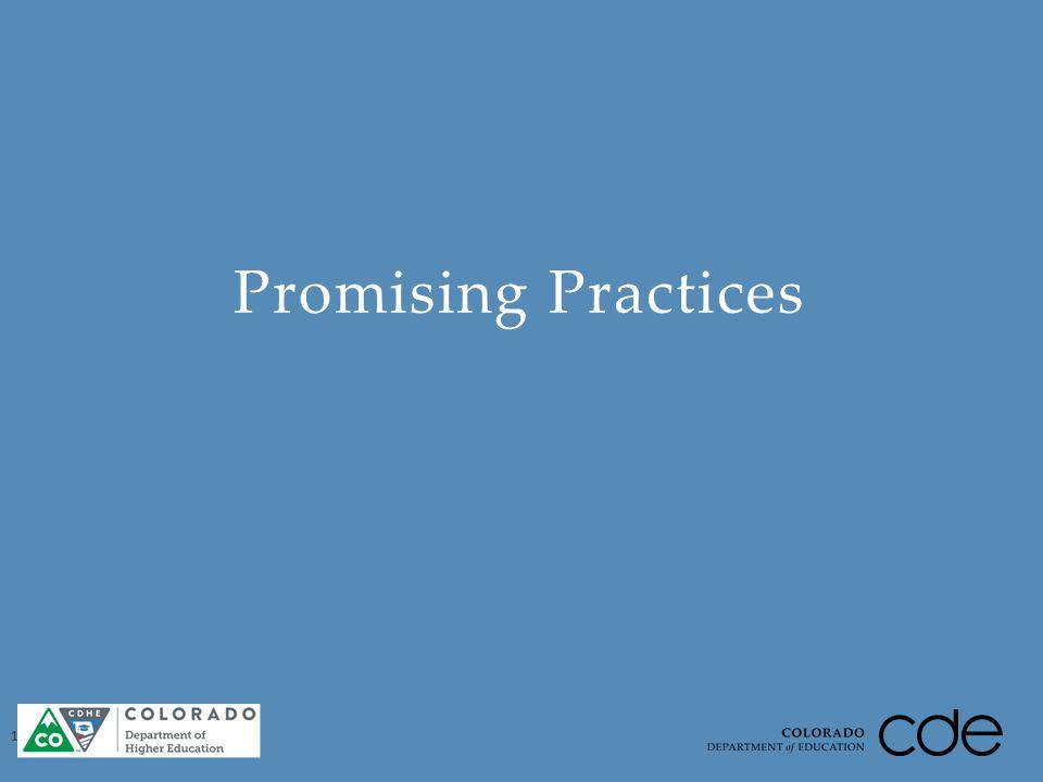 Promising Practices 10