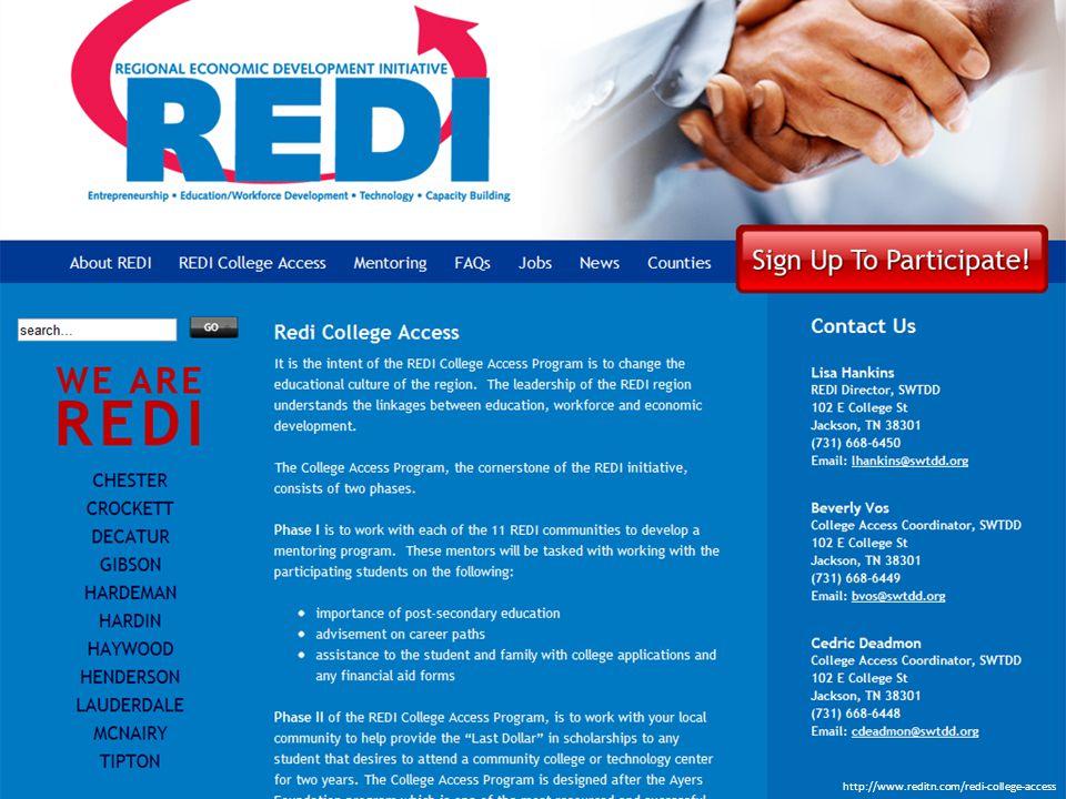 http://www.reditn.com/redi-college-access