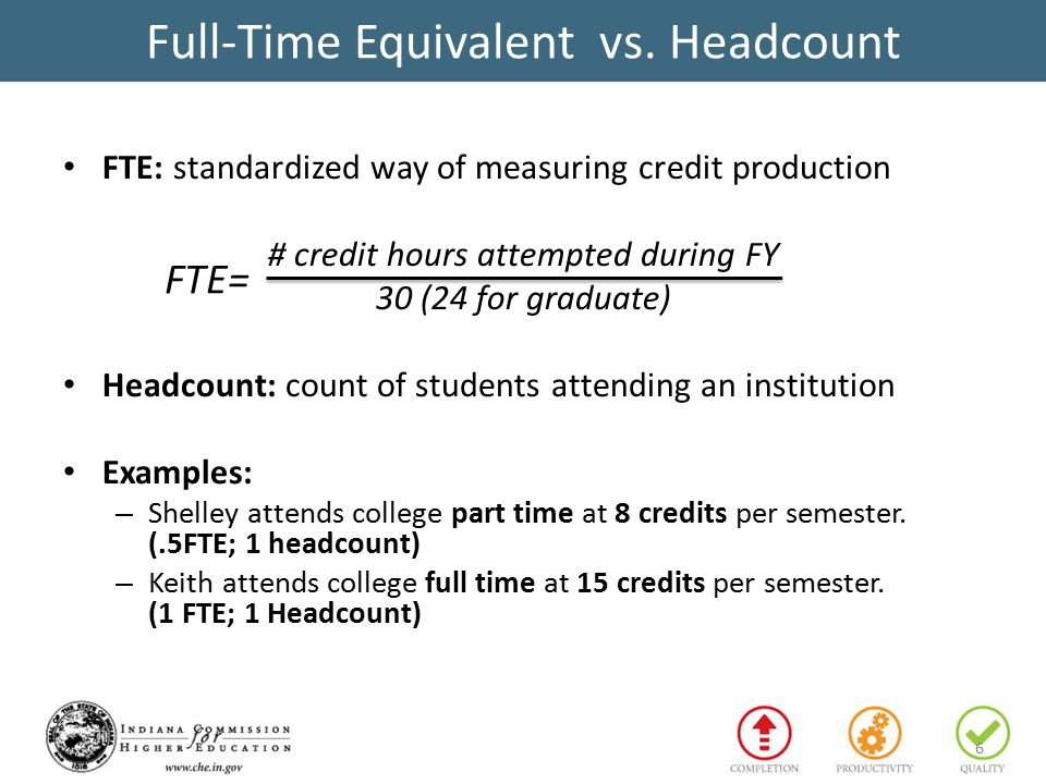 Full-Time Equivalent vs.