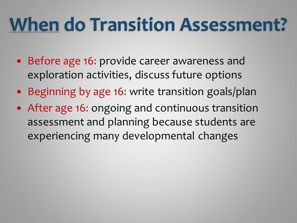 Clark, G.M.(2007). Assessment for transition planning.