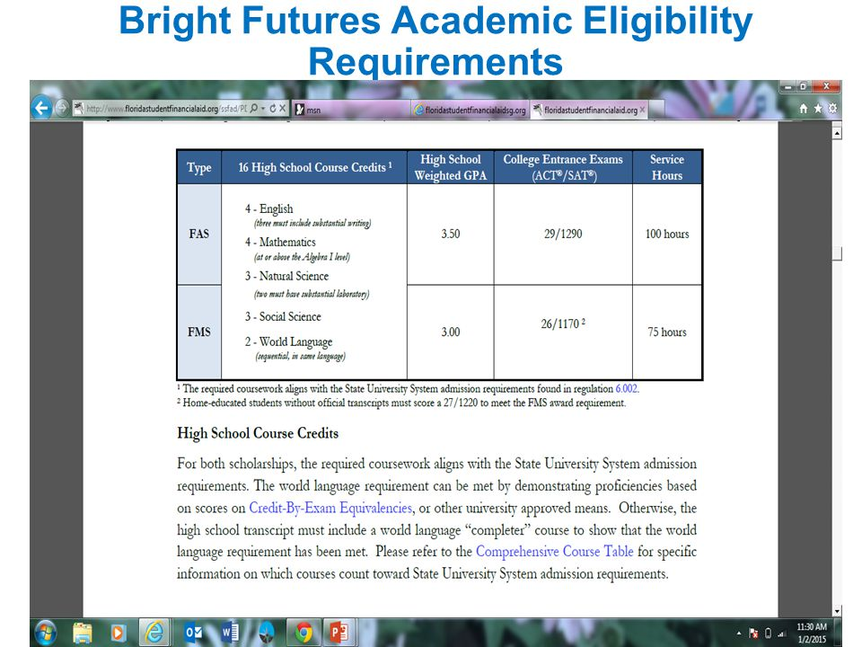 http://www.floridastudentfinancialaid.org/SSFAD/home/uamain.htmhttp://www.floridastudentfinancialaid.org/SSFAD/home/uamain.htm See Brochure State Scholarship and Grant Opportunities