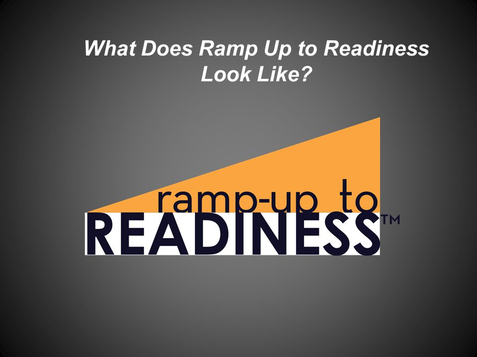 The Pillars Due to the increasing need for students to pursue 4-year, 2-year and technical degrees, this curriculum is set up to prepare students for college in 5 areas: http://www.rampuptoreadiness.org/concepts/goals-and-levels Academic Readiness: The ability to succeed in first-year, credit bearing courses at a technical college, a community college or a four-year college or university.