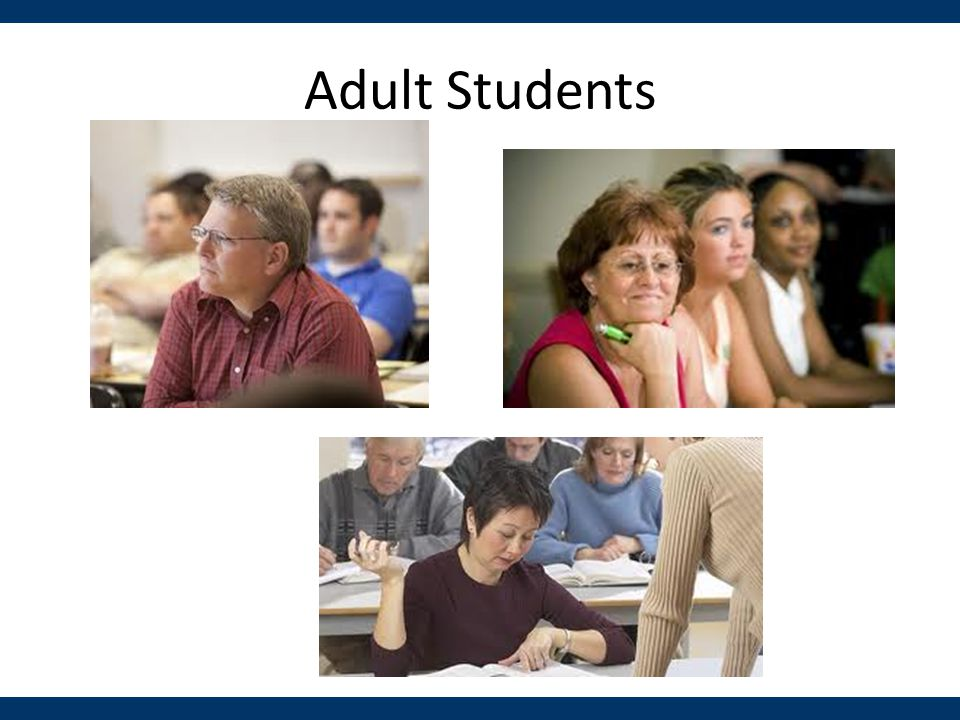 Adult Students