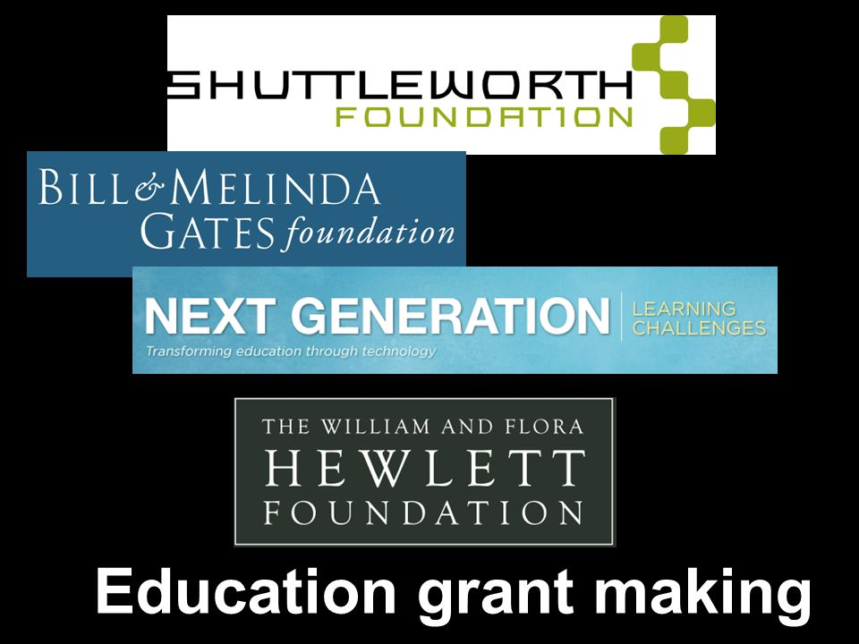 Education grant making