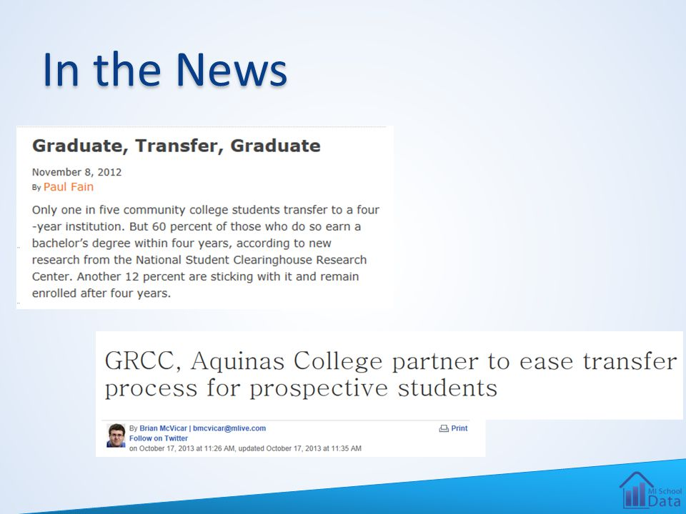 Studies in the Press