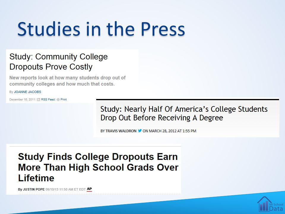 Studies in the Press