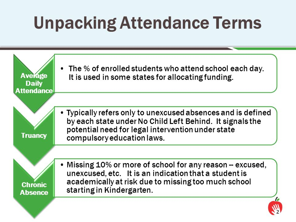 The Effects of Chronic Absence on Dropout Rates Are Cumulative 13 http://www.utahdataalliance.org/downloads/ChronicAbsenteeismResearchBrief.pdf