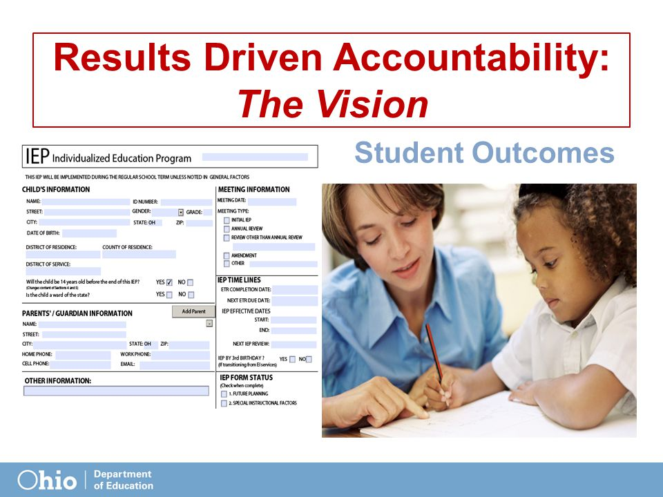 What it means … Analysis of elements and indicators -> improvement strategies Use of National Technical Assistance Centers Focused Improvement Aligned with the ESEA Waiver