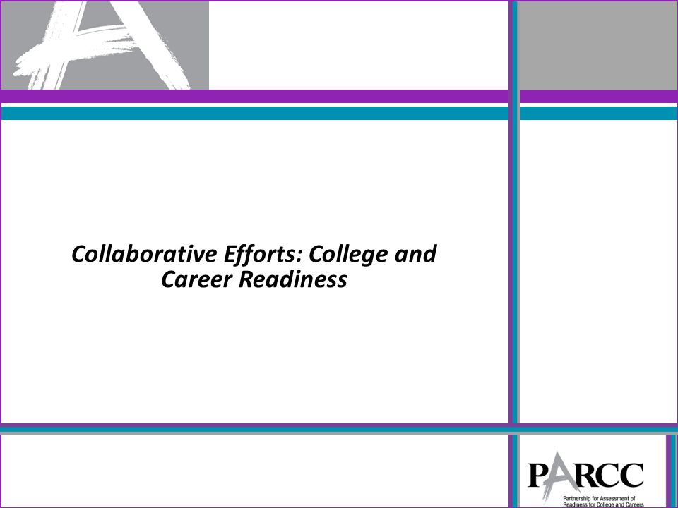 Collaborative Efforts: College and Career Readiness