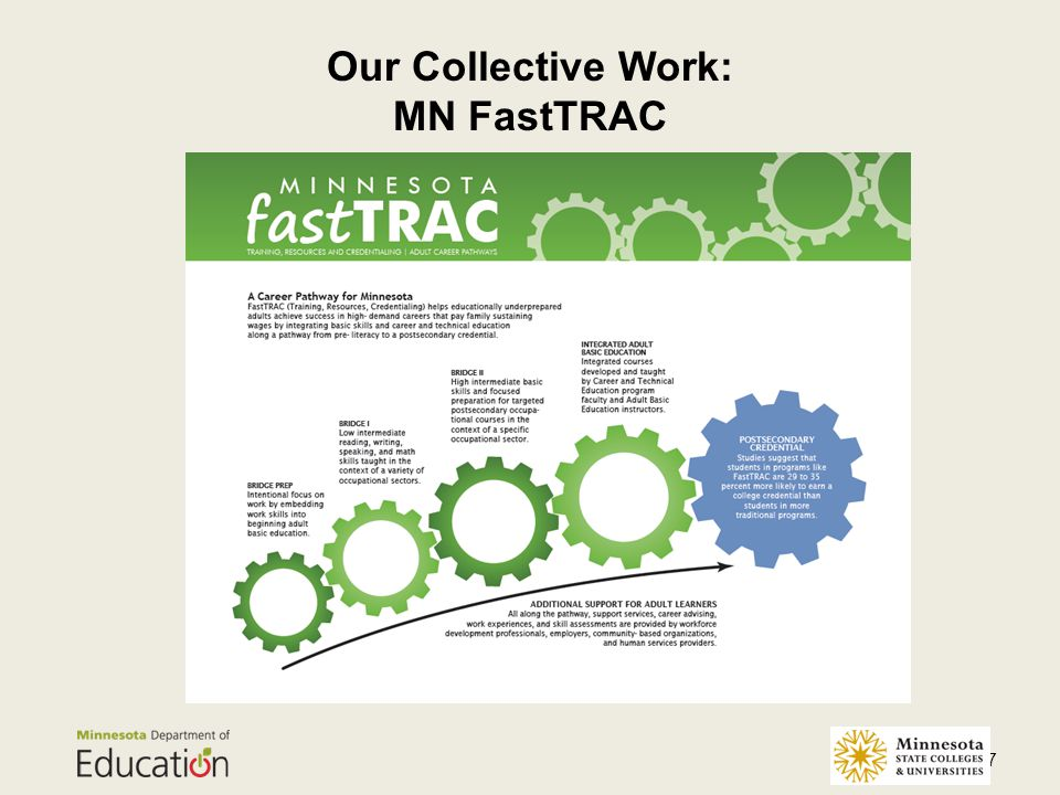 Our Collective Work: MN FastTRAC 17
