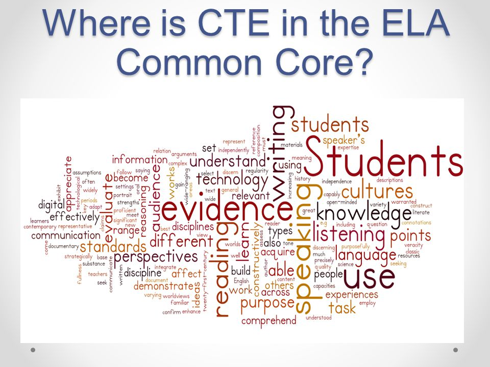 Where is CTE in the NGSS?