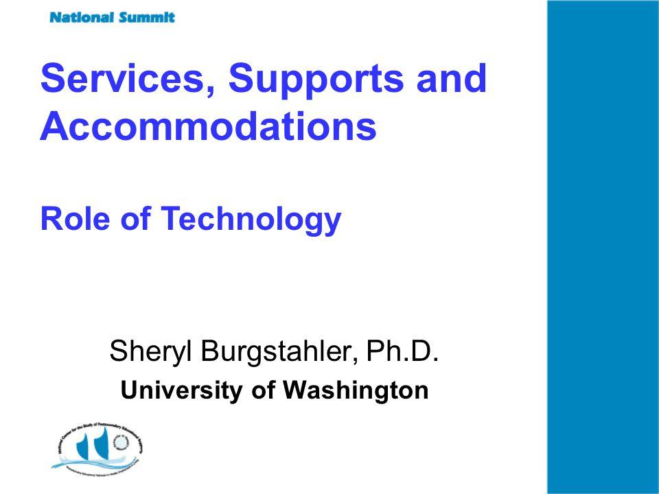 Sheryl Burgstahler, Ph.D.