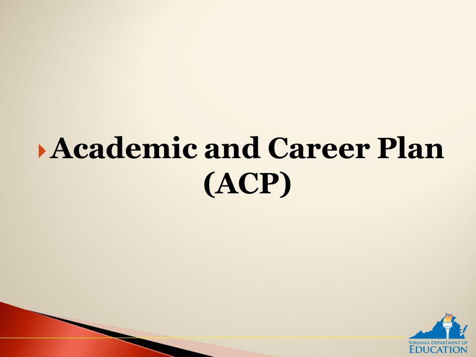  Academic and Career Plan (ACP)