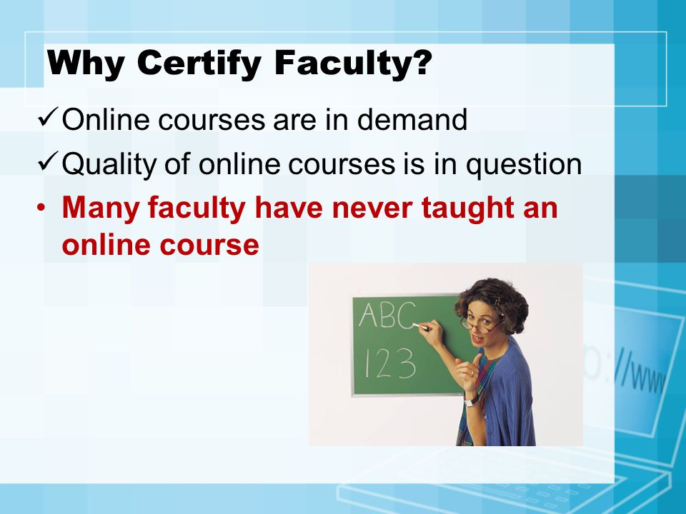 Quality of Online Courses A majority of academic leaders believe that online learning quality is already equal to or superior to face-to-face instruction.