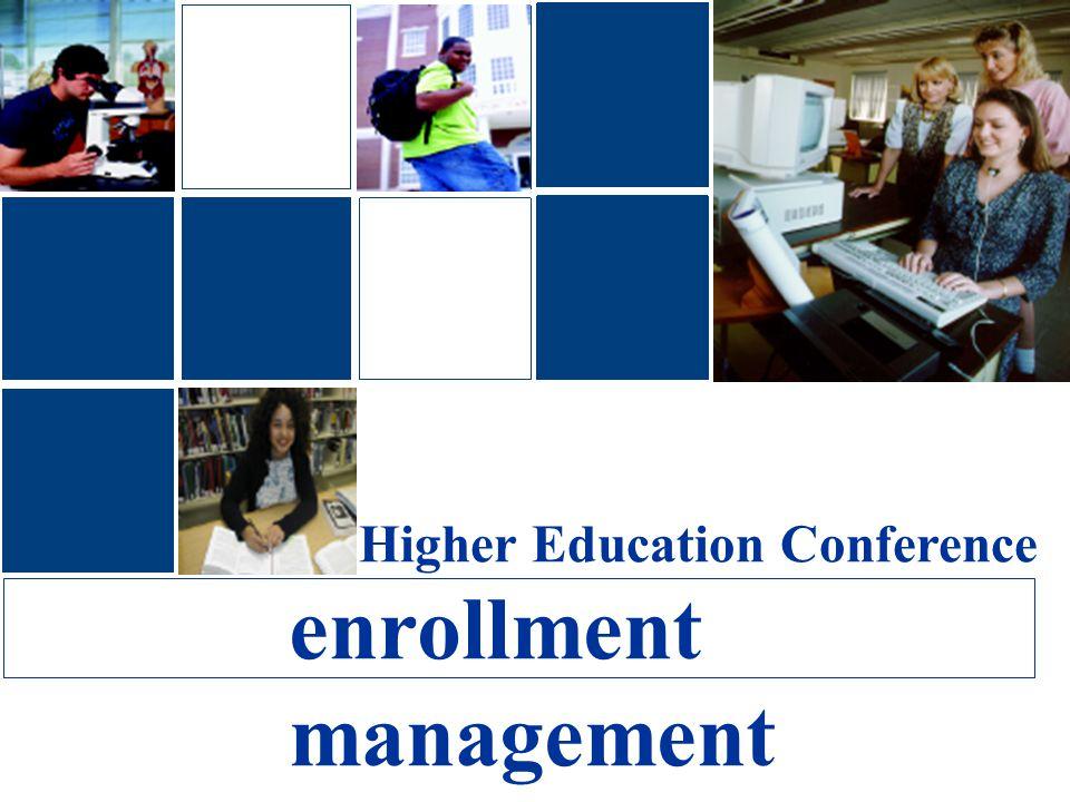 Higher Education Conference enrollment management
