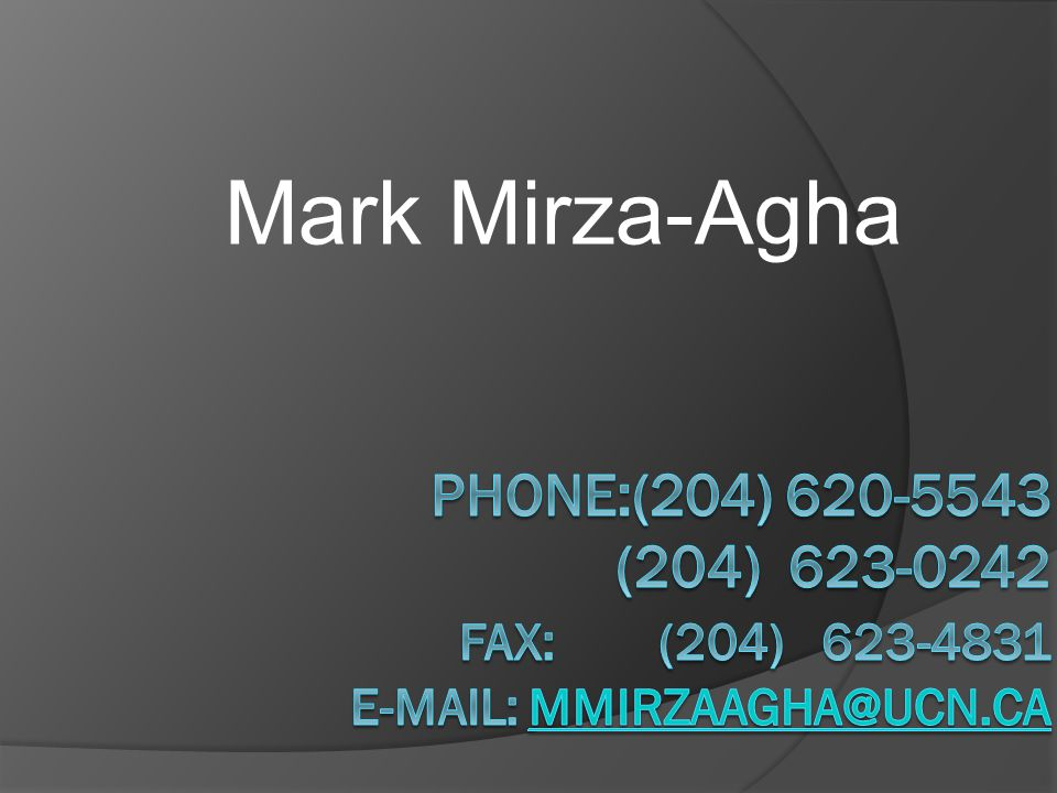 Mark Mirza-Agha