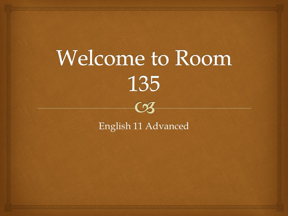 English 11 Advanced