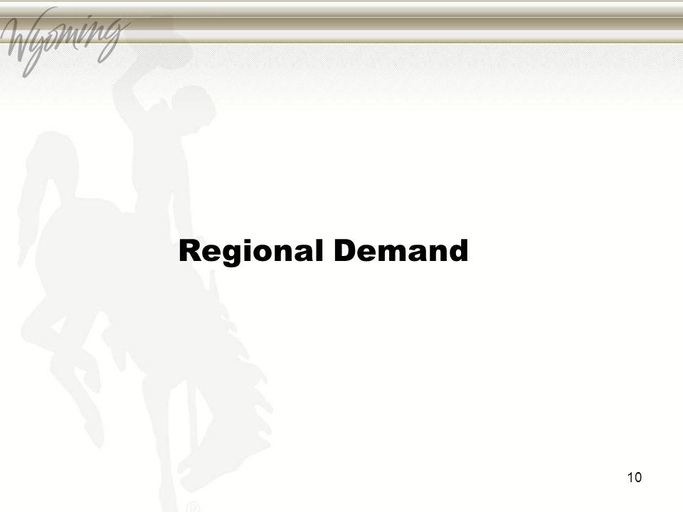 Regional Demand 10