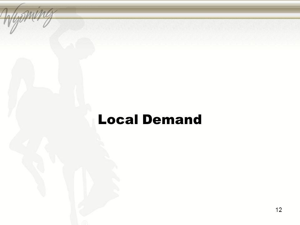 Local Demand 12
