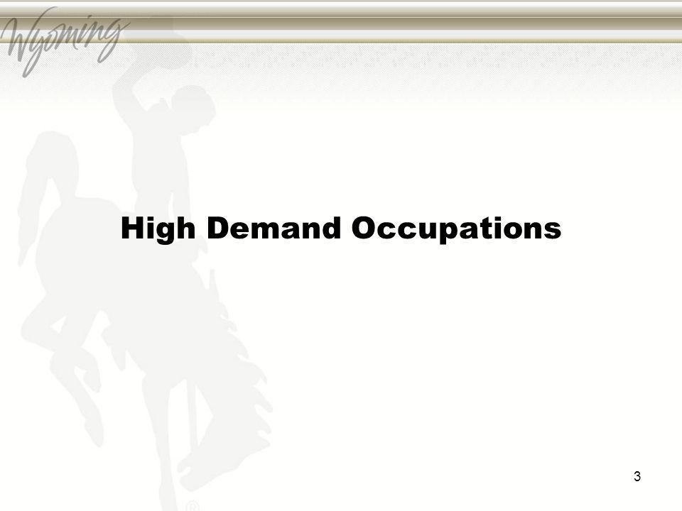High Demand Occupations 3