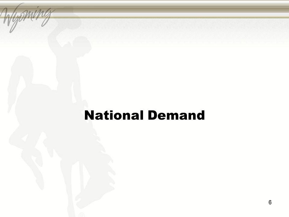 National Demand 6