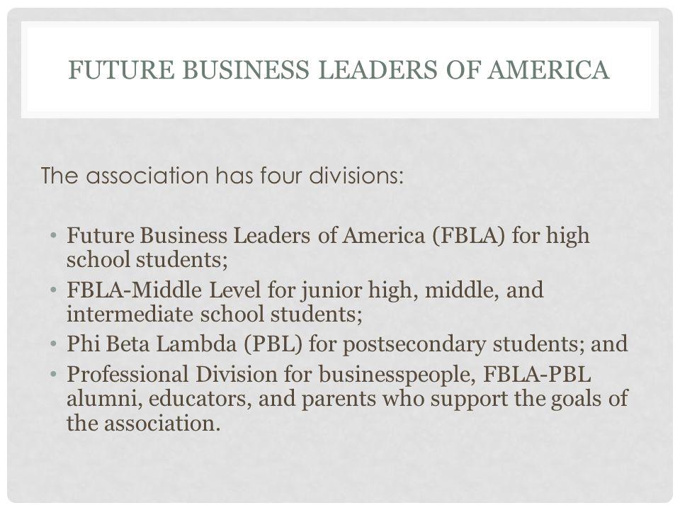 CENTURA COLLEGE FUTURE BUSINESS LEADERS OF AMERICA END.
