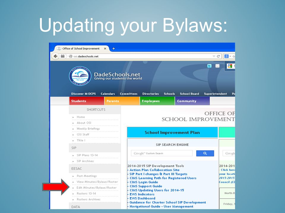 Updating your Bylaws:
